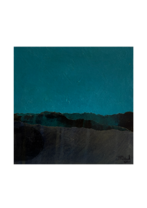 048-Juan Fernando Cobo - Paisajes - 17 x17 cm. Mixta y collage sobre tela - 2021 - 575€